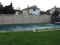 Vinyl Fencing Installed In Private Home In Markham 399