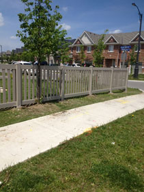 Vinyl Pickets Fencing Installation 101 Toronto